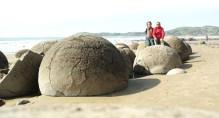 Wybrzeze Otago Moeraki Boulders (1)