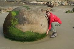 Wybrzeze Otago Moeraki Boulders (12)