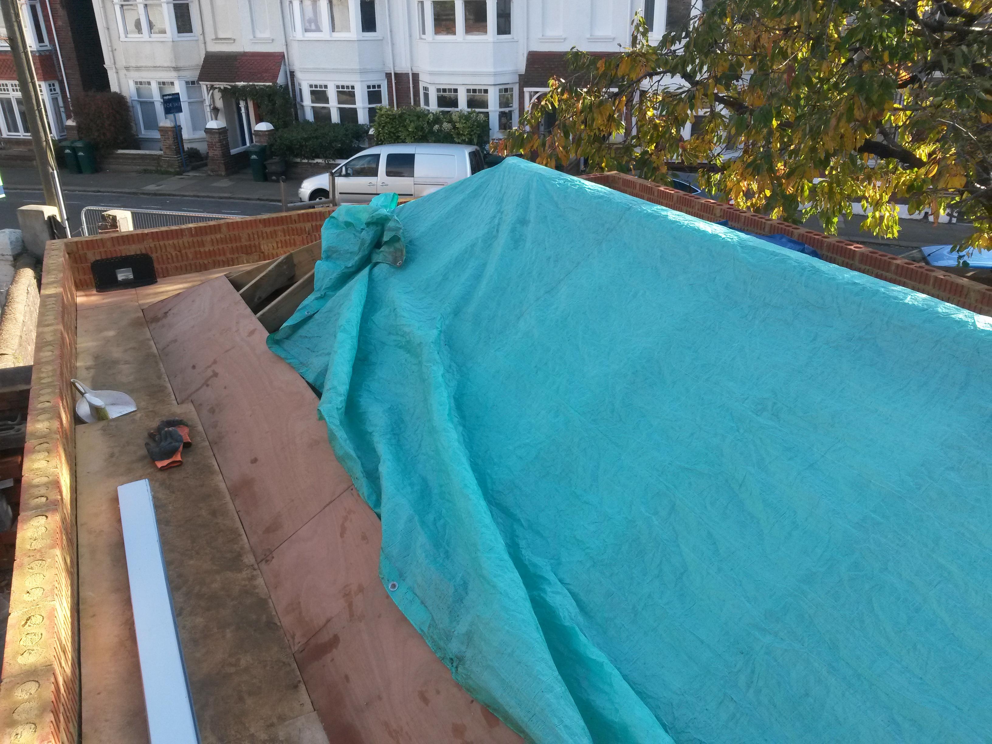 Natural Slate Roof And Epdm Gutter Ds777 Dobson Amp Son Ltd