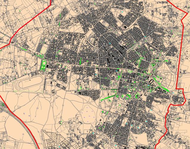 Plan de zonage Périmètre urbain - khémisset