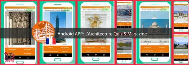 android app sur BTP-Cours.com