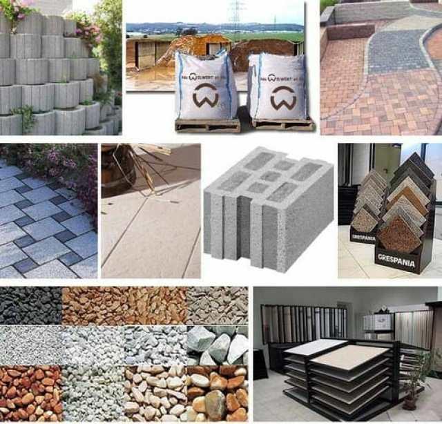 application Matériaux de construction