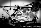 Rahmen und Motor vereint
