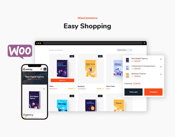 Kenray –Consulting Business WordPress Theme with WooCommerce