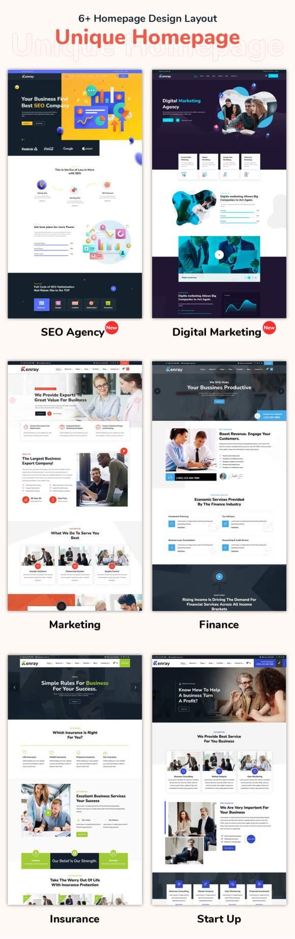 Kenray – Award Winning Consulting Business WordPress Theme