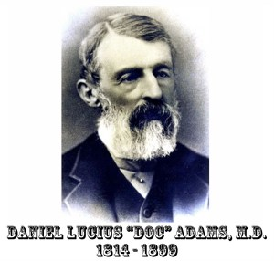 Doc Adams Front Page Photo