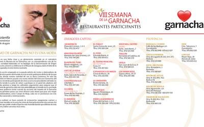Disfrutar de la Garnacha en los restaurantes de Zaragoza y provincia