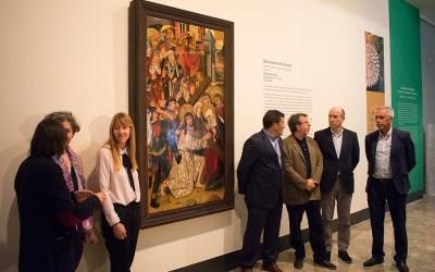 La DOP Campo de Borja costea la restauración de una pintura gótica del Museo de Zaragoza