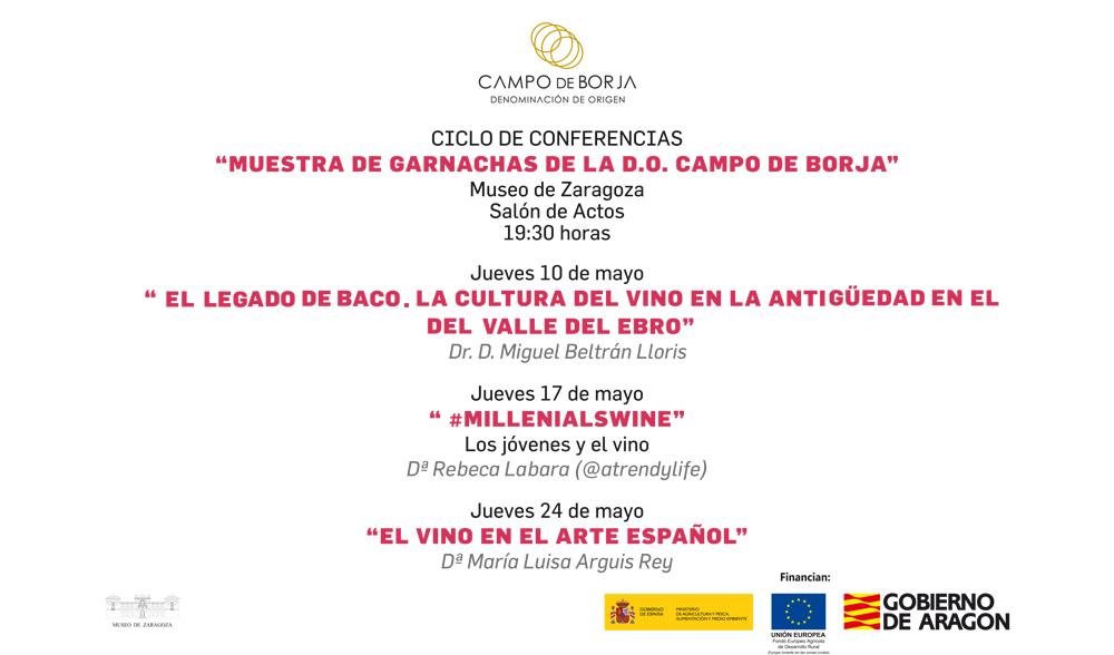 Ciclo de Conferencias «Muestra de Garnachas de la DO Campo de Borja»