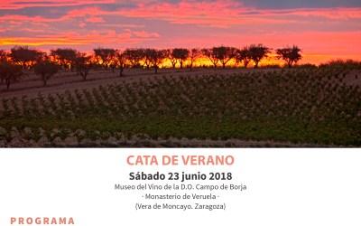 """""""Las 4 estaciones de la Garnacha"""" Cata de verano"""