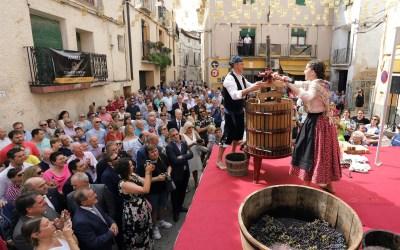 La tradición y la garnacha marcan el inicio de la vendimia en la DOP Campo de Borja