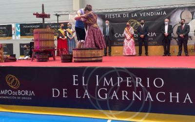 La D. O. Campo de Borja arranca con la Fiesta de la Vendimia una campaña en la que espera recoger 30 millones de kilos de uva