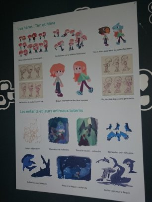 Une mini expo consacrée au jeu Onirigami