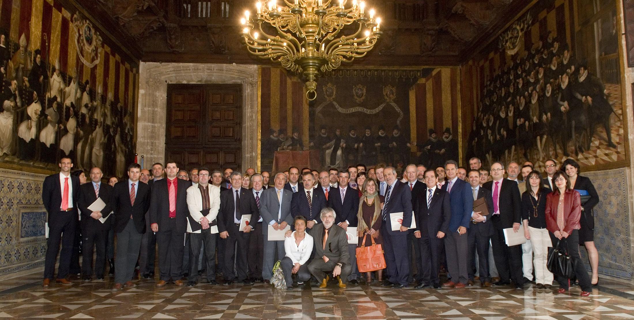 Assemblea de la CECRV en Palau de la Generalitat Valenciana