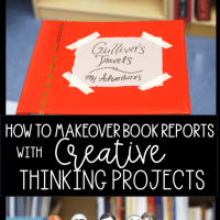 How to Makeover Book Reports with Creative Project Based Learning