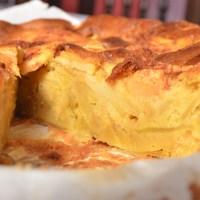 Tarte de maçã camadas