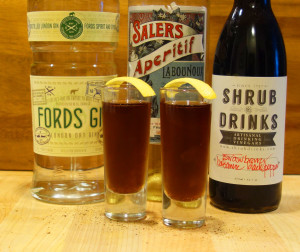 Fords Balsamic Shrub Shot