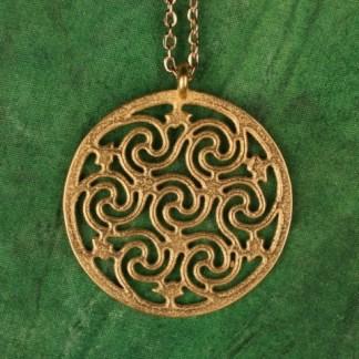 Seven Spiral Pendant