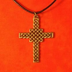 Mens Celtic Cross Necklace