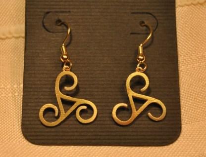 Triskele Earrings
