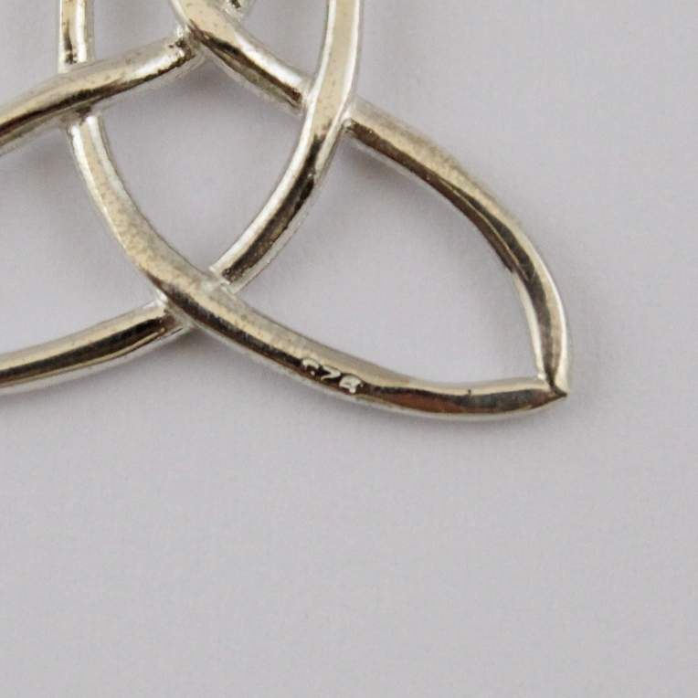 Celtic Mother Child Knot Necklace Do Celtic Jewelry