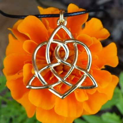 Celtic Sisters' Knot Necklace