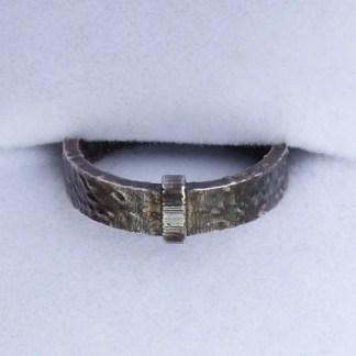 Dark Patina Silver Outlander Ring