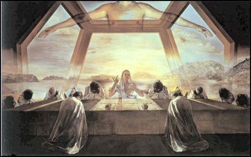 Salvador Dali, The Last Supper National Museum of Art, Washington, DC