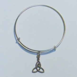 Mother and Child Knot bracelet nickel