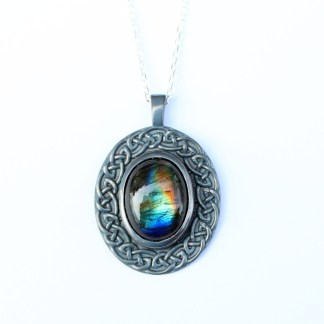 Celtic Labradorite Dark Patina
