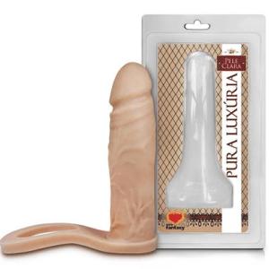 Anel Com Prótese Auxiliar 12,4 X 3Cm Sexy Fantasy
