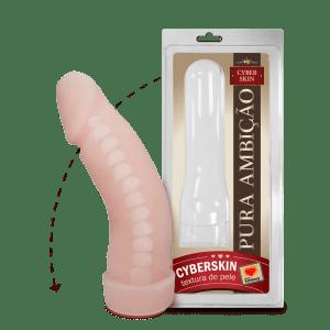 PRÓTESE COM VÉRTEBRA EM CYBERSKIN – 16X4,5CM – Sexy Fantasy