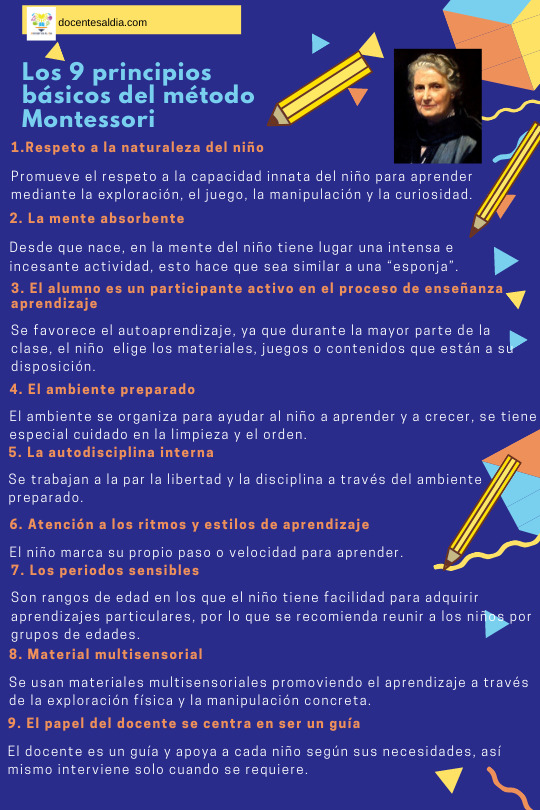 Los 9 principios básicos del método Montessori