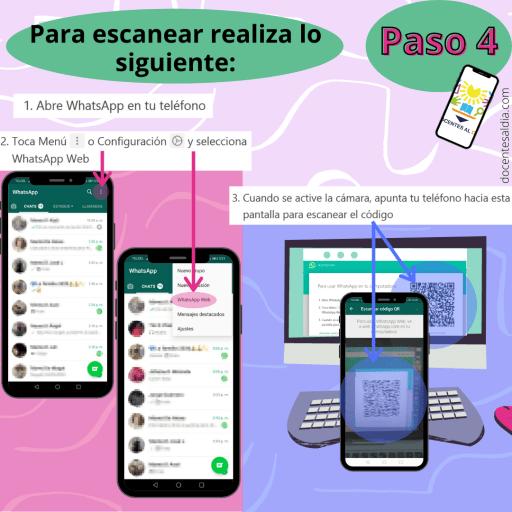 Cómo usar el WhatsApp en la computadora 4