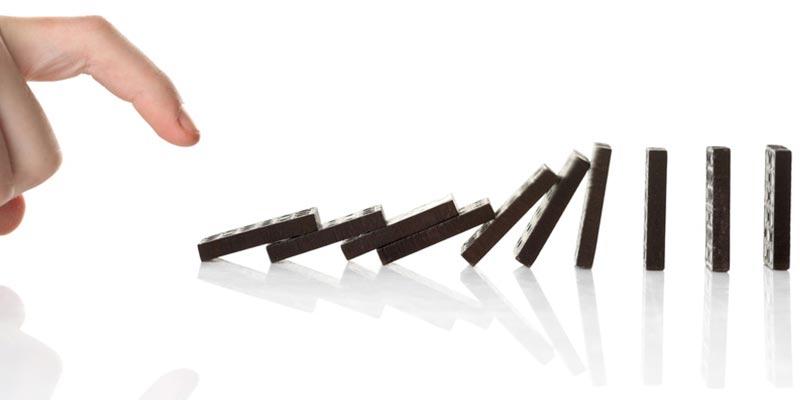 Efecto domino de hábitos