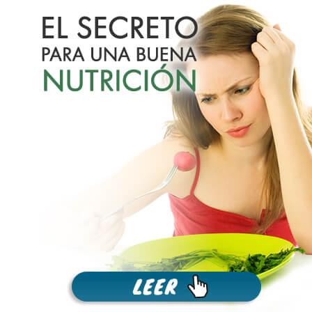 El Secreto para Una Buena Nutrición