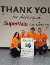Team at SuperValu Castletroy World Autism Day 02.Apr.19