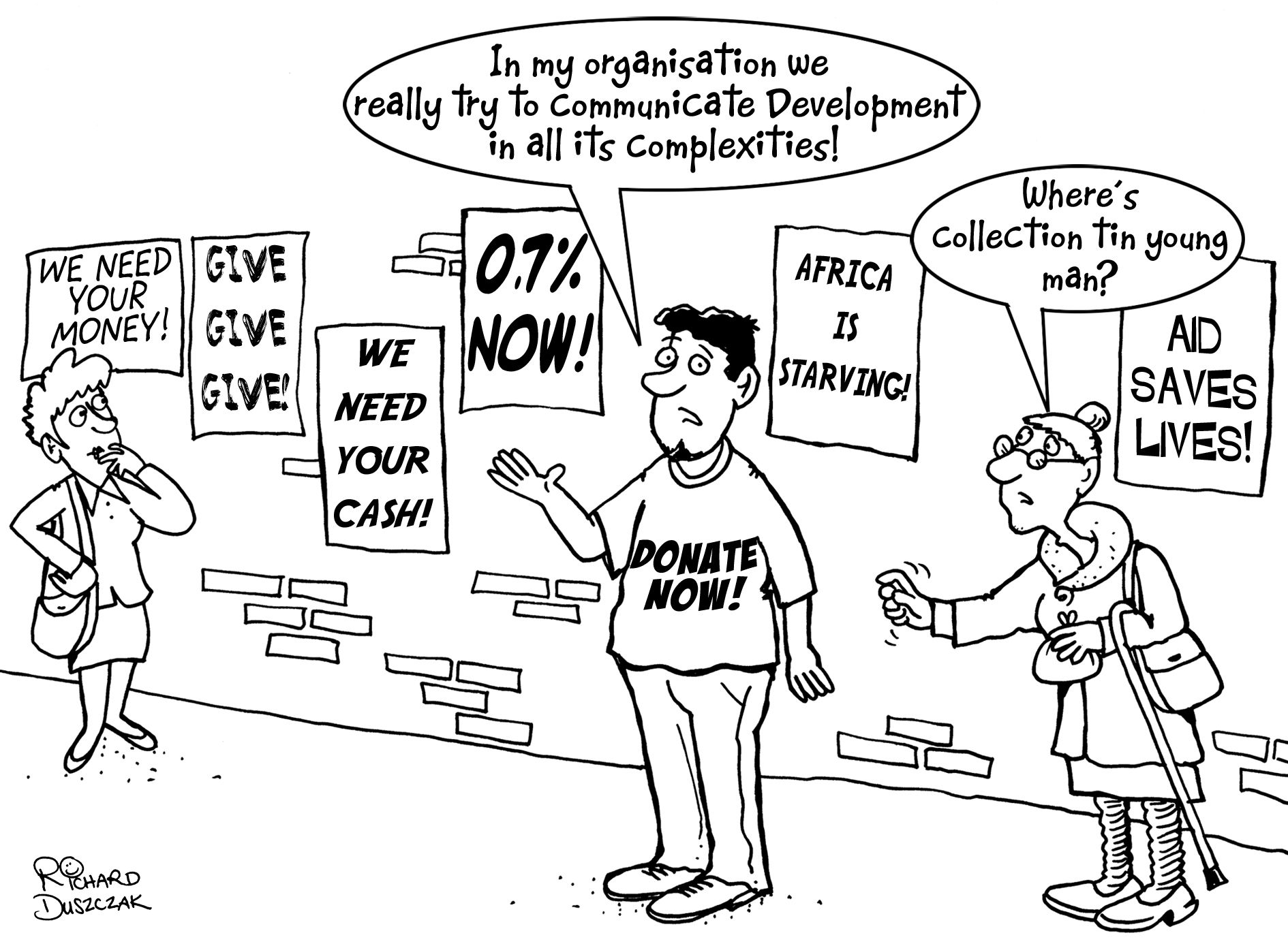 Using Cartoons To Communicate Development