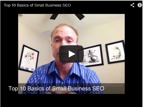 Top 10 Tips for Small Business SEO - Video Launched