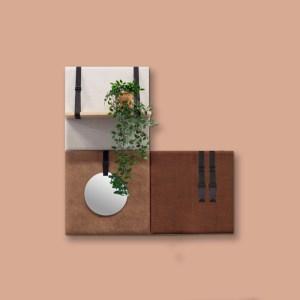 Dock Four bruin wanddecoratie voor woon- & slaapkamer, medium combinatie 10