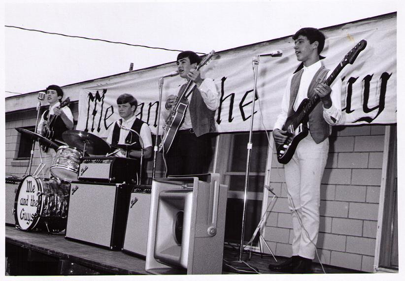 Wooster, Ohio's Me & The Guys perform at the Lazy J Ranch circa 1966. Photo courtesy George Gell.