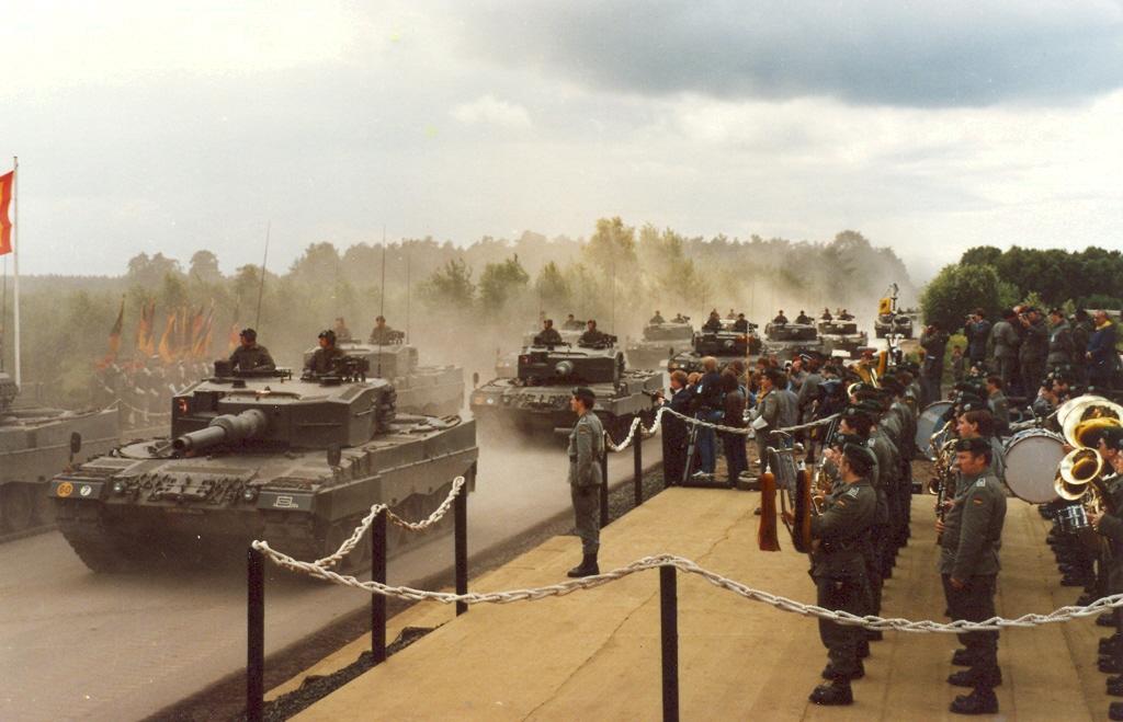 1984 Parade zur Verabschiedung