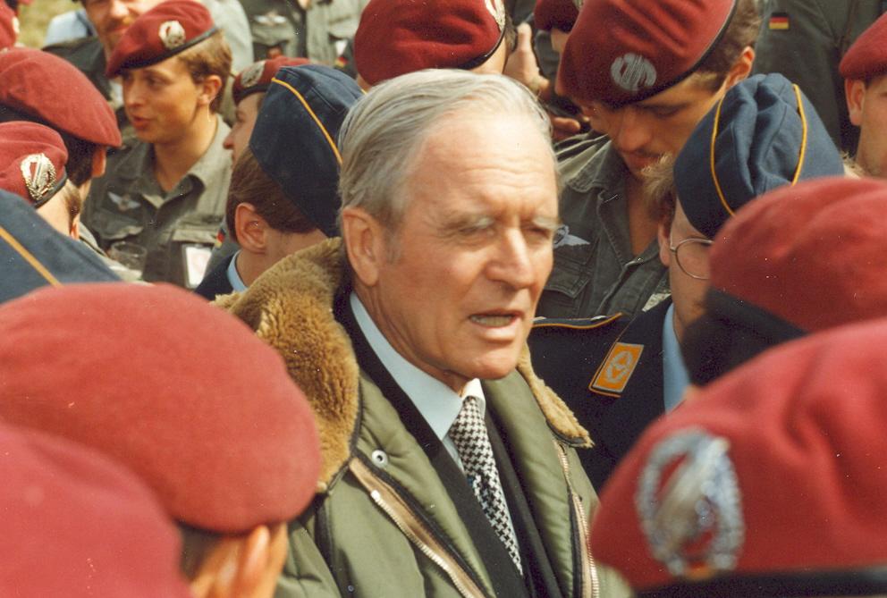 1984 Verabschiedung Bundespräsd