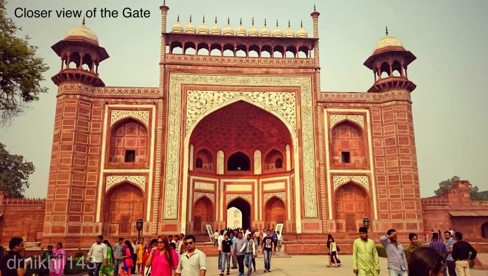 Short trip to Taj Mahal (4/6)