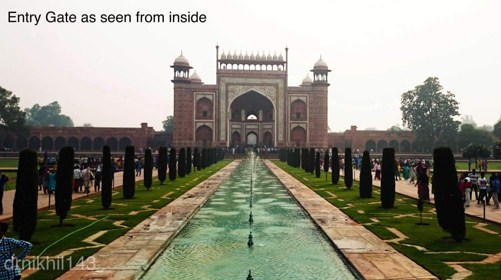 Short trip to Taj Mahal (5/6)