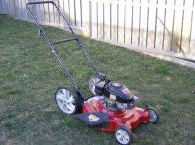 Rogan's lawnmower.