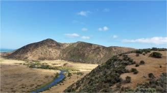 View of Wainuiomata river from the ridge. Photo: Paula Warren
