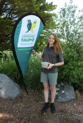 Sian at a Kids Green Taupo event.