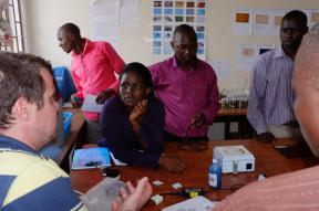 Lab on paper based diagnostics at Mbarara University of Science and Technology