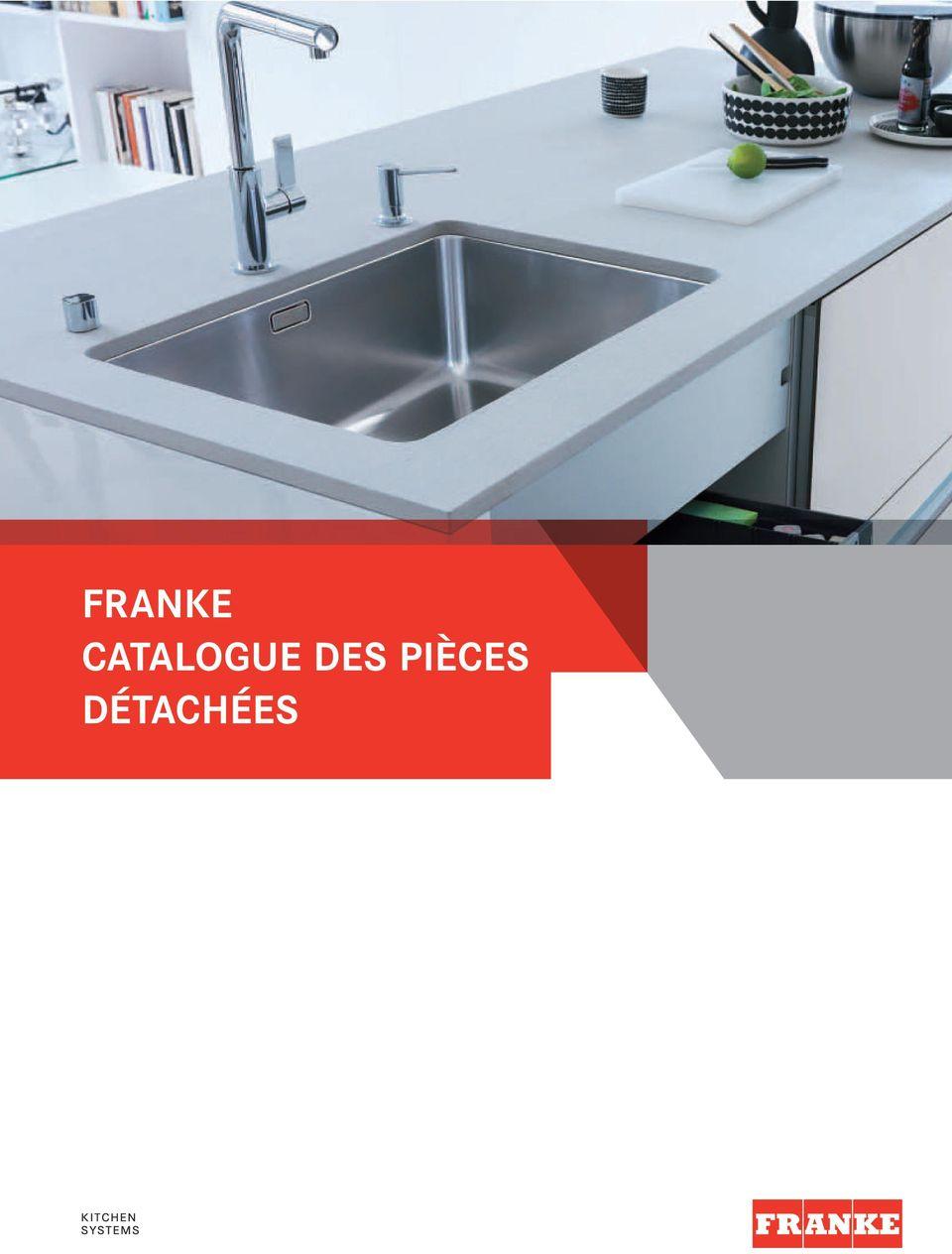 franke catalogue des pieces detachees